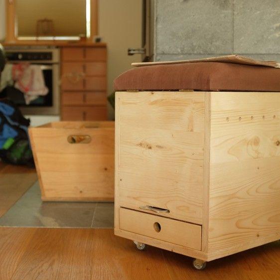 Wurmkomposter & Hocker in einem. Für die Wohnung oder den Balkon.