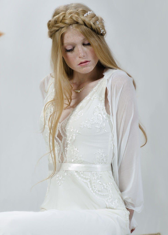 Weddings White Sheer Shawl