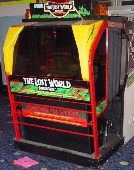 the lost world arcade