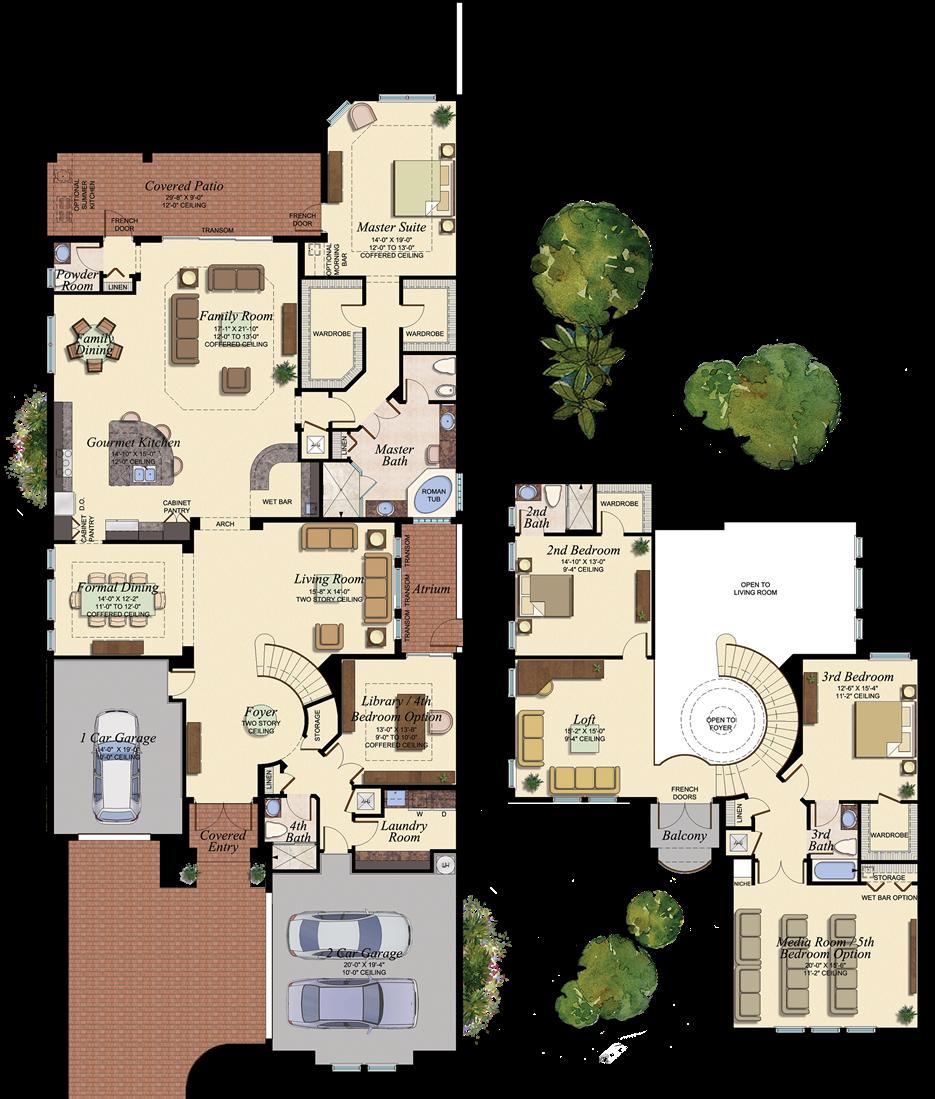 Vizcaya 554 Floor Plan House Ideas House Plans Floor