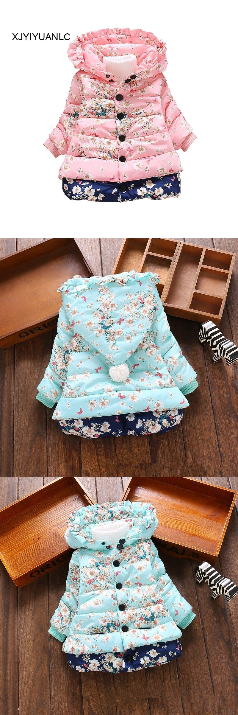 7a7968f7b New Girls Outerwear children s clothing Baby girl fashion printed ...
