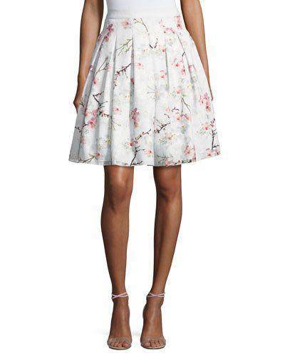 3c190ac17 Cherry Blossom Burnout Skirt
