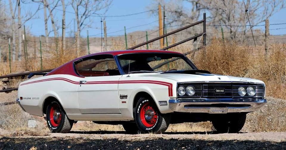 1969 Mercury Cyclone Spoiler ll - Cale Yarborough Special (63H) - close to the Torino body