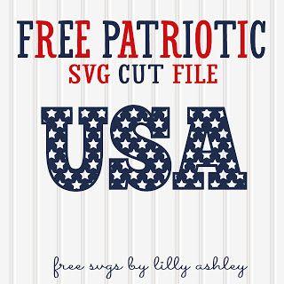 Free Svg Patriotic Cut File Silhouette Freebies Free