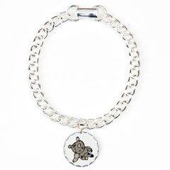 Abstract Teddy Bear Bracelet #charmbracelet #teddy