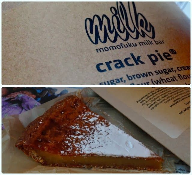 Momofuku Milk Bar, New York - Crack Pie