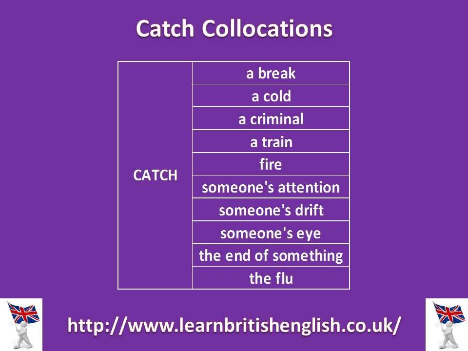 Catch Collocations