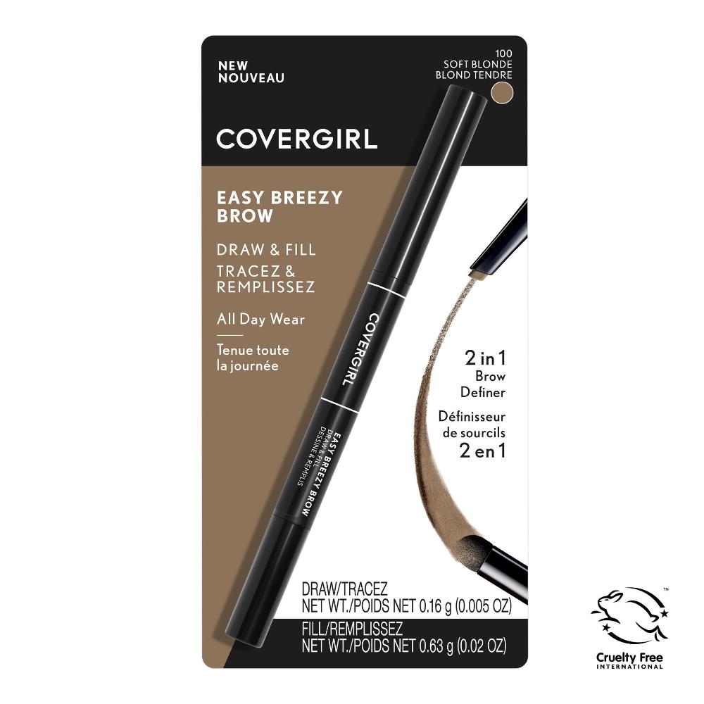 Easy Breezy Brow Draw and Fill Brow Tool COVERGIRL® Soft
