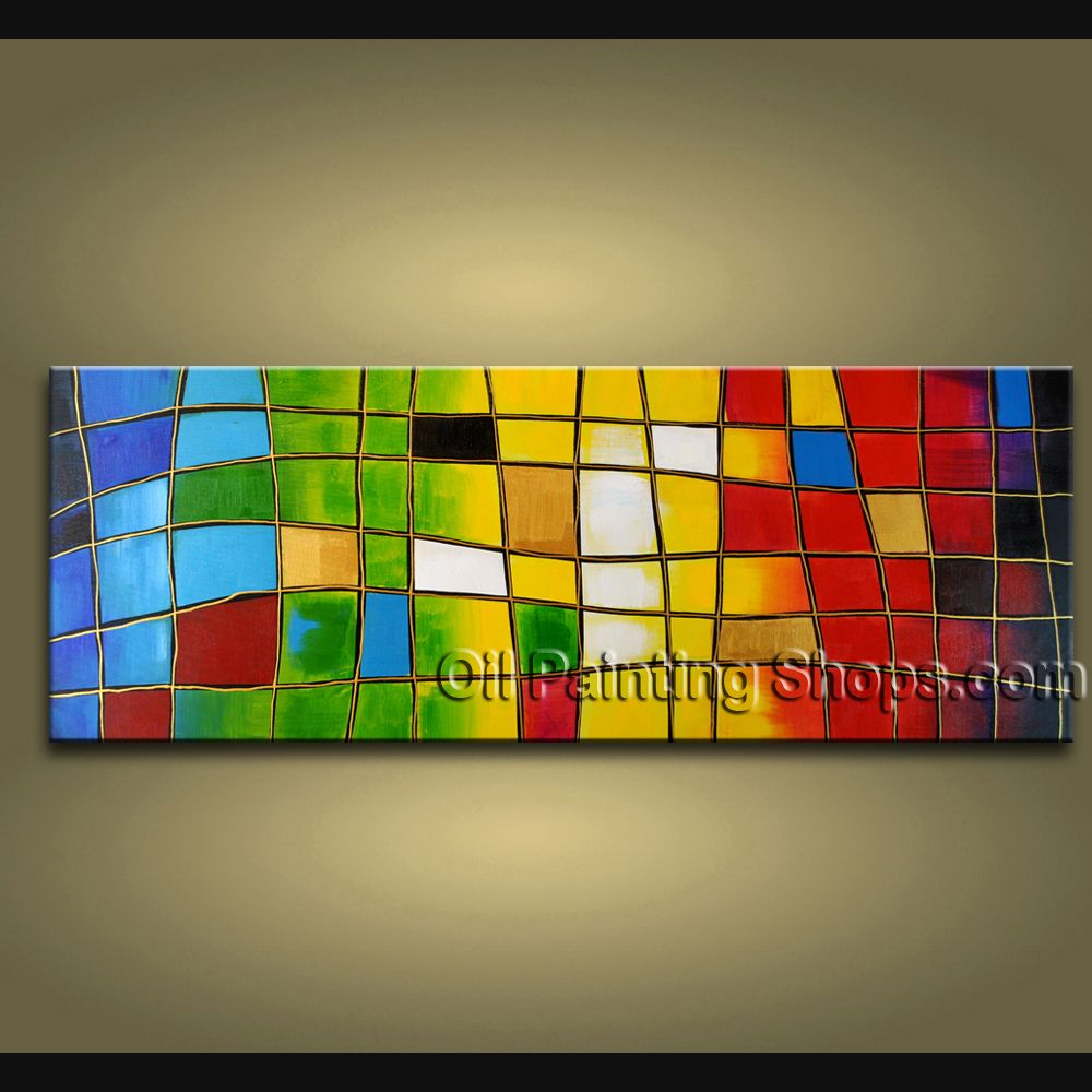 Hand-painted Stunning Modern Abstract Painting Wall Art Artwork ...