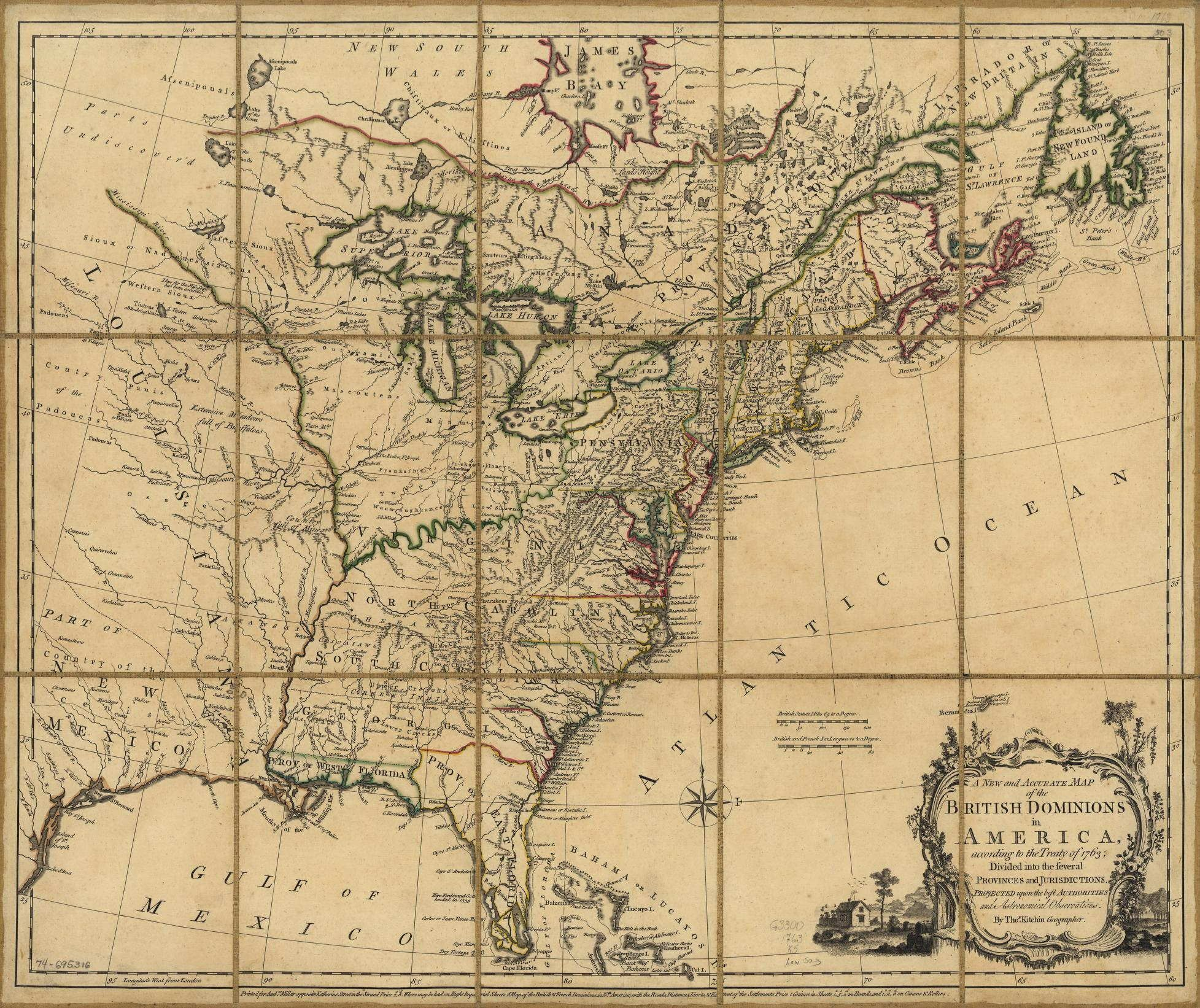 Historical Maps Of The S All Titles Dated Between To - Map of us 1700