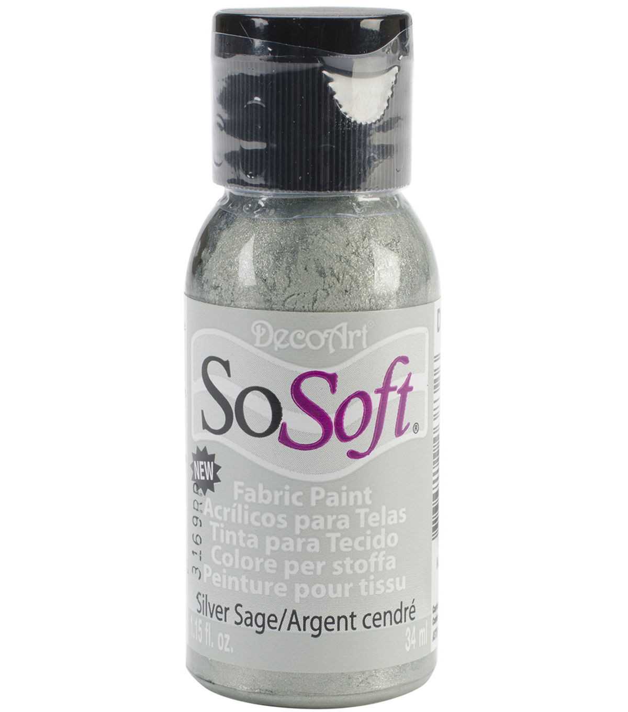 Decoart Sosoft Fabric Acrylic Paint 1 15 Fl Oz Hauser Dark Green Acrylic Painting Printing On Fabric Fabric Painting