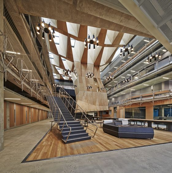 Gallery | Australian Interior Design Awards The University of Melbourne -  Melbourne School of Design VIC