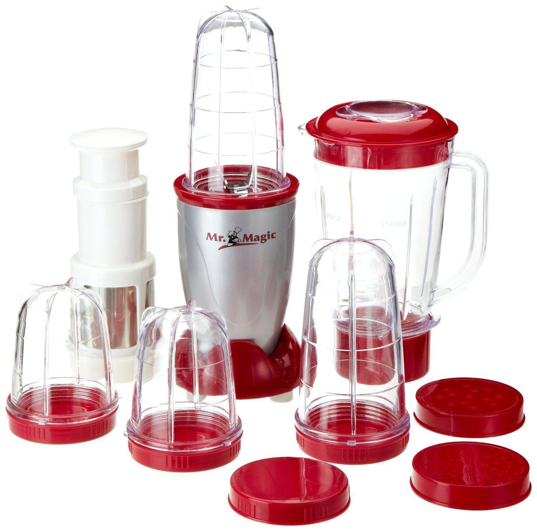 Tv Unser Original Mr Magic Blender Set 400 Watt Amazon Co Uk Kitchen Home Smoothie Makers Glassware Blender