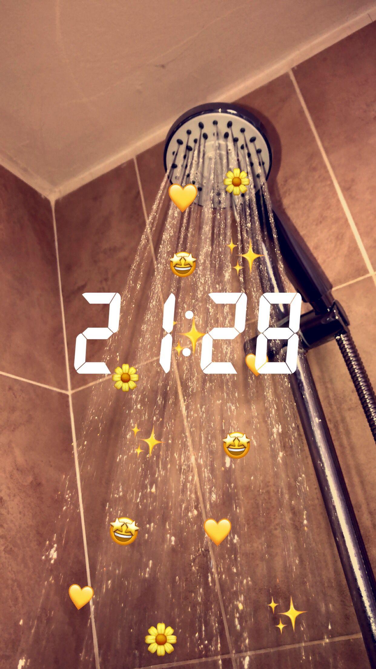 showers streaks snapchat aesthetic in 2020 Snapchat
