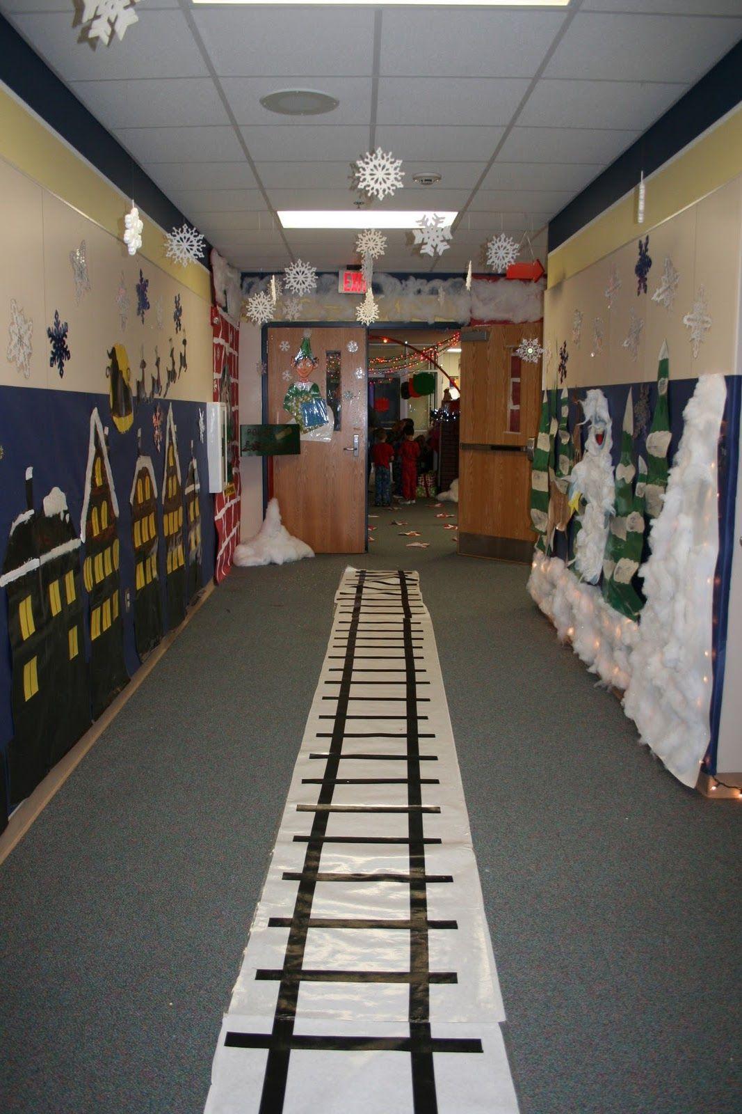 Train Track On Floor