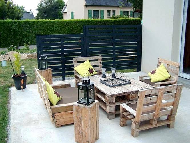 19++ Salon de jardin palette bois trends