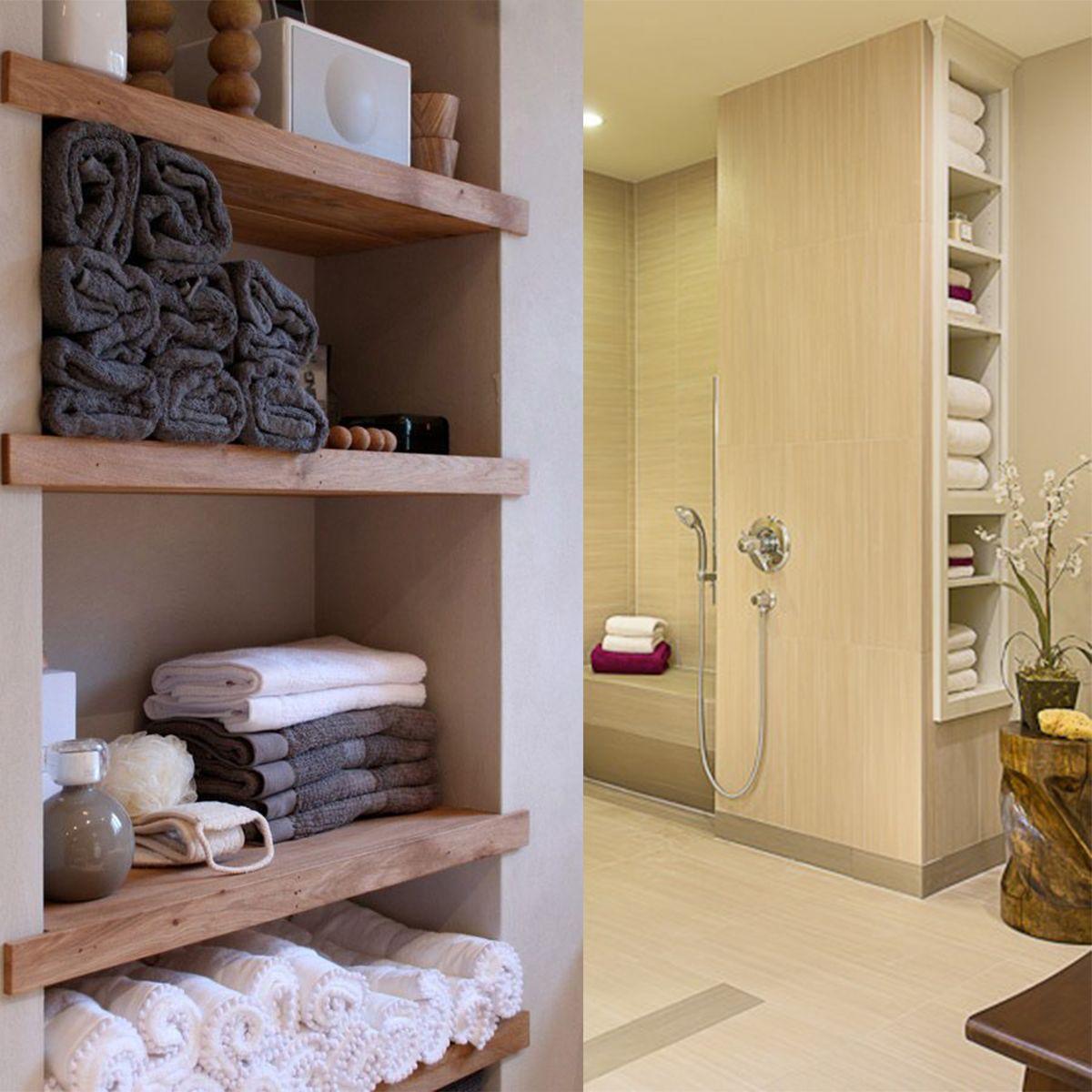 hall linen closet home design pinterest badezimmer baden und g ste wc. Black Bedroom Furniture Sets. Home Design Ideas