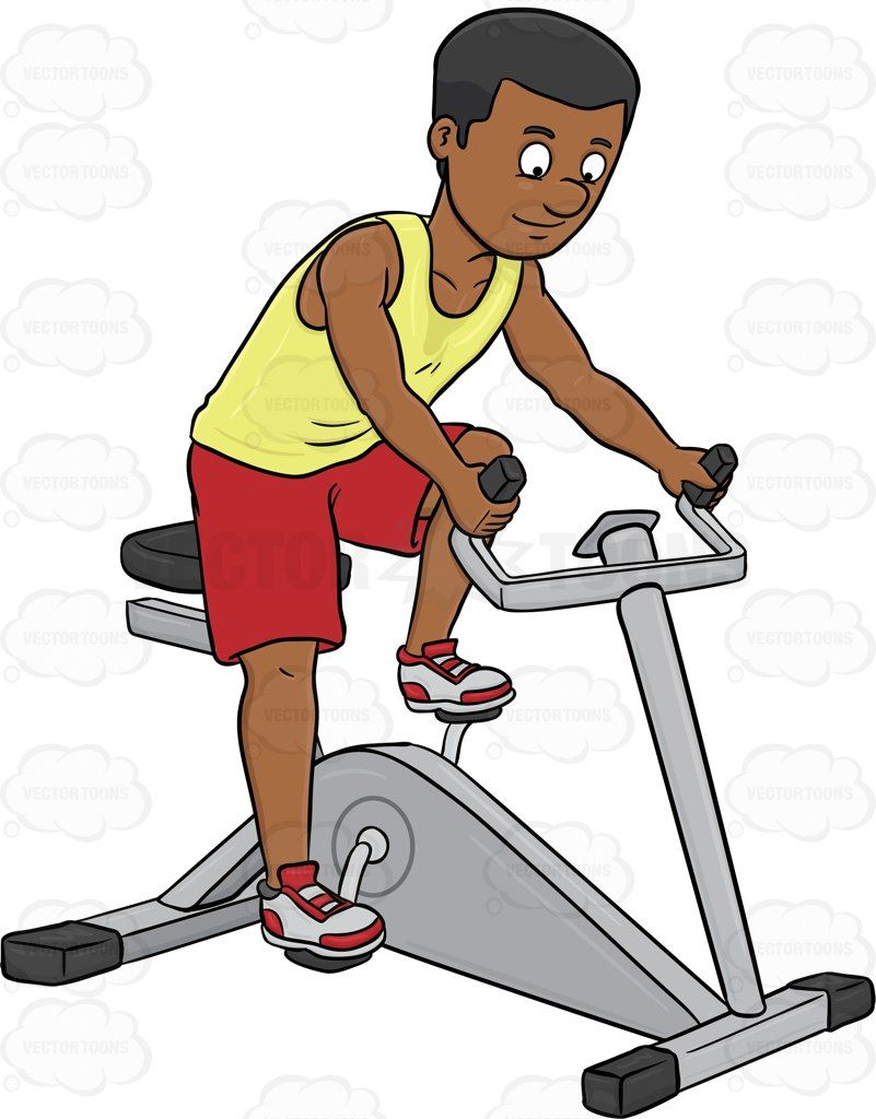 A Dark Haired Man Enjoys Riding A Stationary Bike Biking Workout Dark Haired Men Stationary Bike