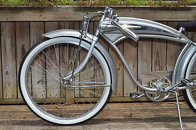 vintage retro bicycle higgins shelby monark elgin tank bike