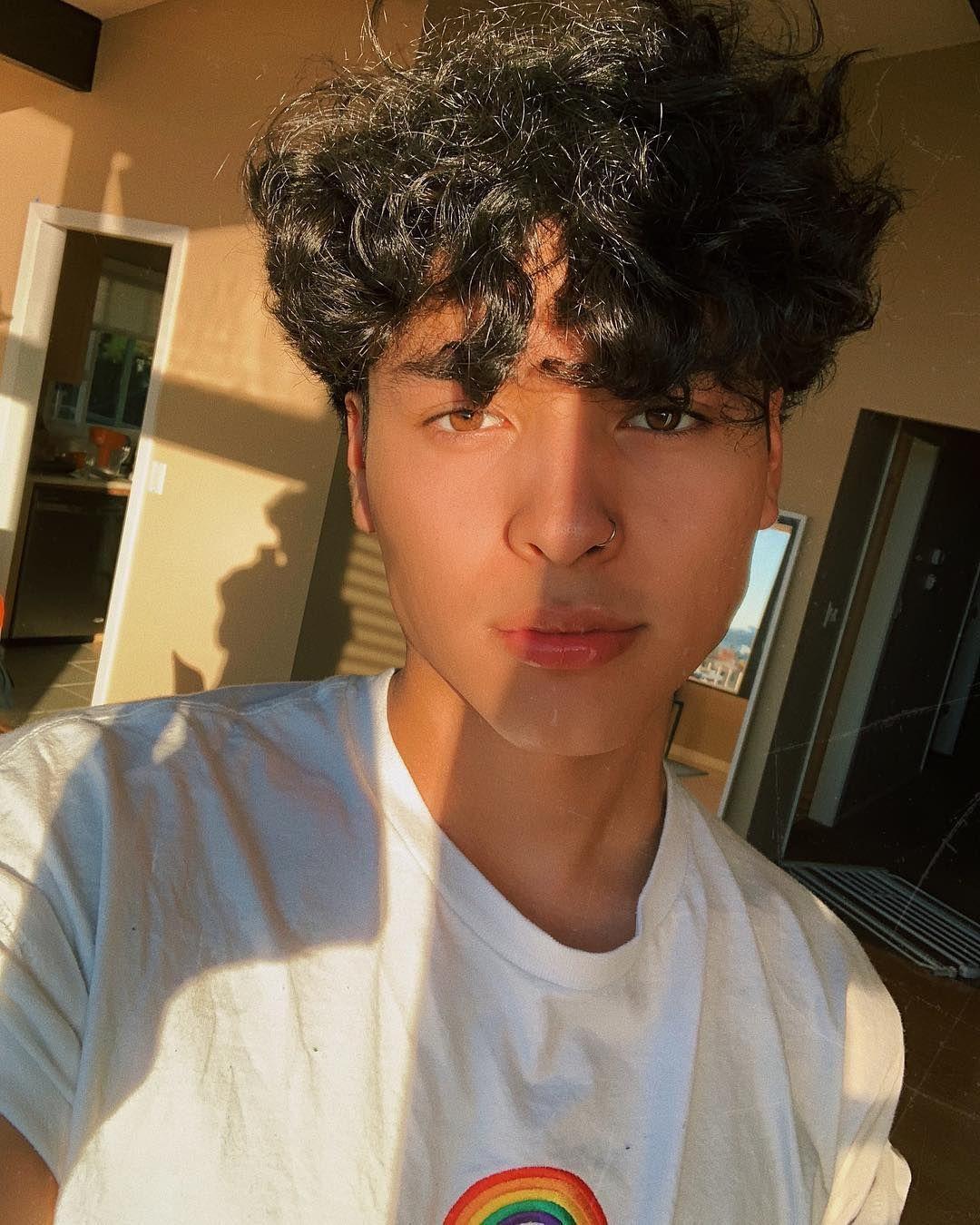Drip Too Hard Curly Hair Men Boys With Curly Hair Light Skin Boys