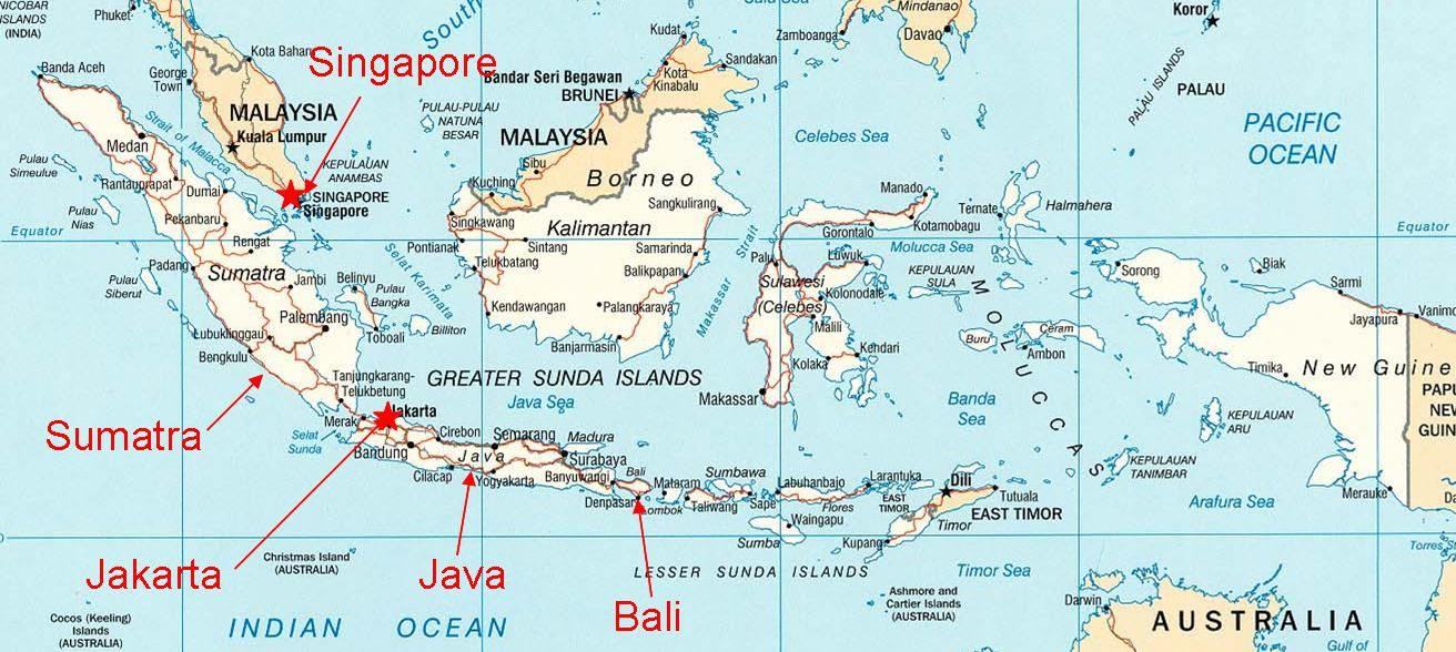 Indonesia map of indonesia west sumatra province is located on indonesia map of indonesia west sumatra province is located on the island of gumiabroncs Image collections