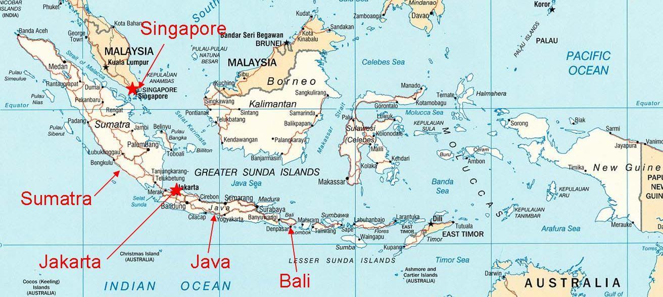 Indonesia map of indonesia west sumatra province is located on indonesia map of indonesia west sumatra province is located on the island of gumiabroncs Choice Image
