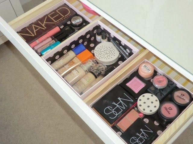 Ikea Hemnes Dressing Table hidden drawer make up storage blog - küchenrückwand ikea erfahrungen