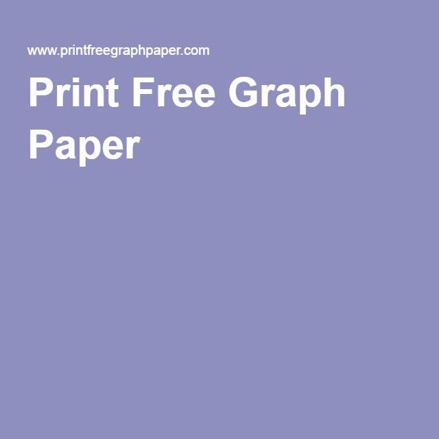 Print Free Graph Paper  Printables  Free    Graph