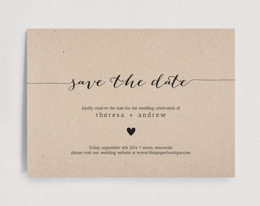 save the date invitation templates free