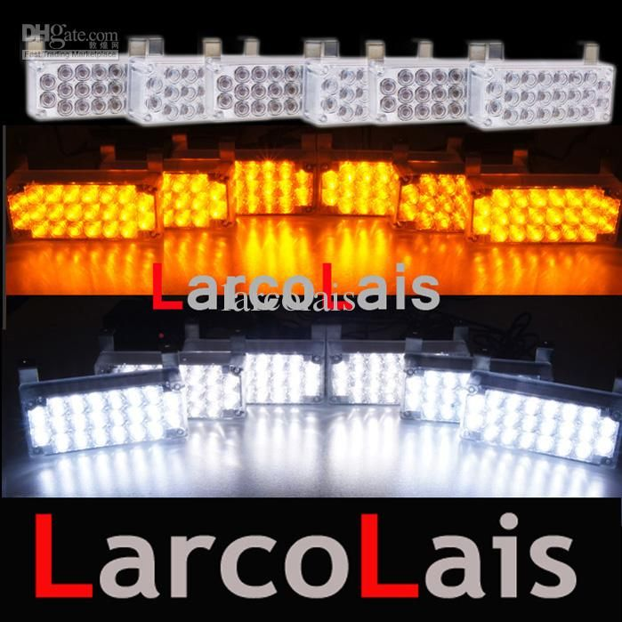 Led Strobe Lights For Trucks Awesome 4X3 Led Strobe Flash Warning Car Truck Light Flashing Firemen Lights Decorating Inspiration