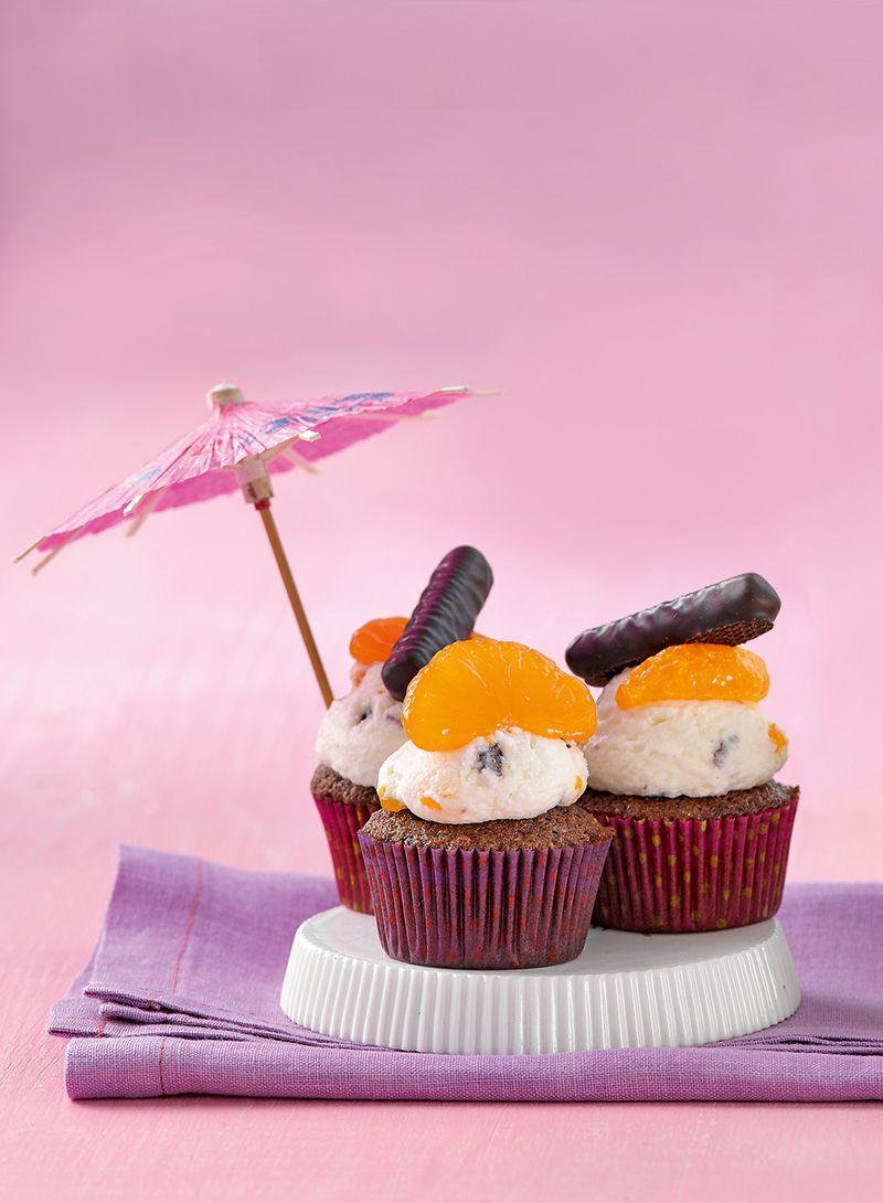 erfrischende mini cupcakes rezept muffins cupcakes und co kuchen muffin rezept und backen. Black Bedroom Furniture Sets. Home Design Ideas