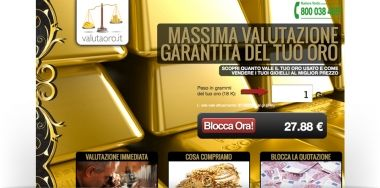 Sito Web and Landing Page for Gold to Buy