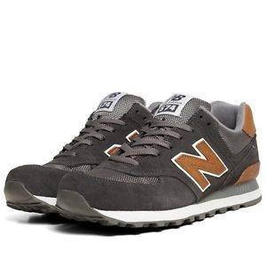 new balance 574 tan leather