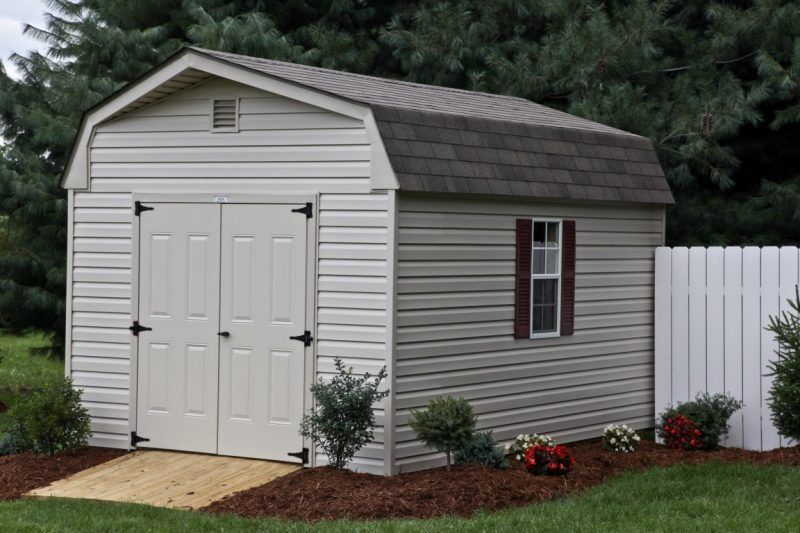 Low Gambrel Roof Shed Vs Gable Roof Shedb Ylerbarns Com Flat Roof Shed Gambrel Roof Gambrel