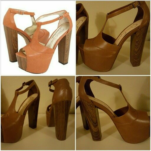 Selling on Poshmark....repin or email if interested ;)   brand new! Jessica Simpson platforms...$75