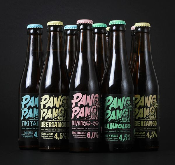 PangPang Brewery on Behance