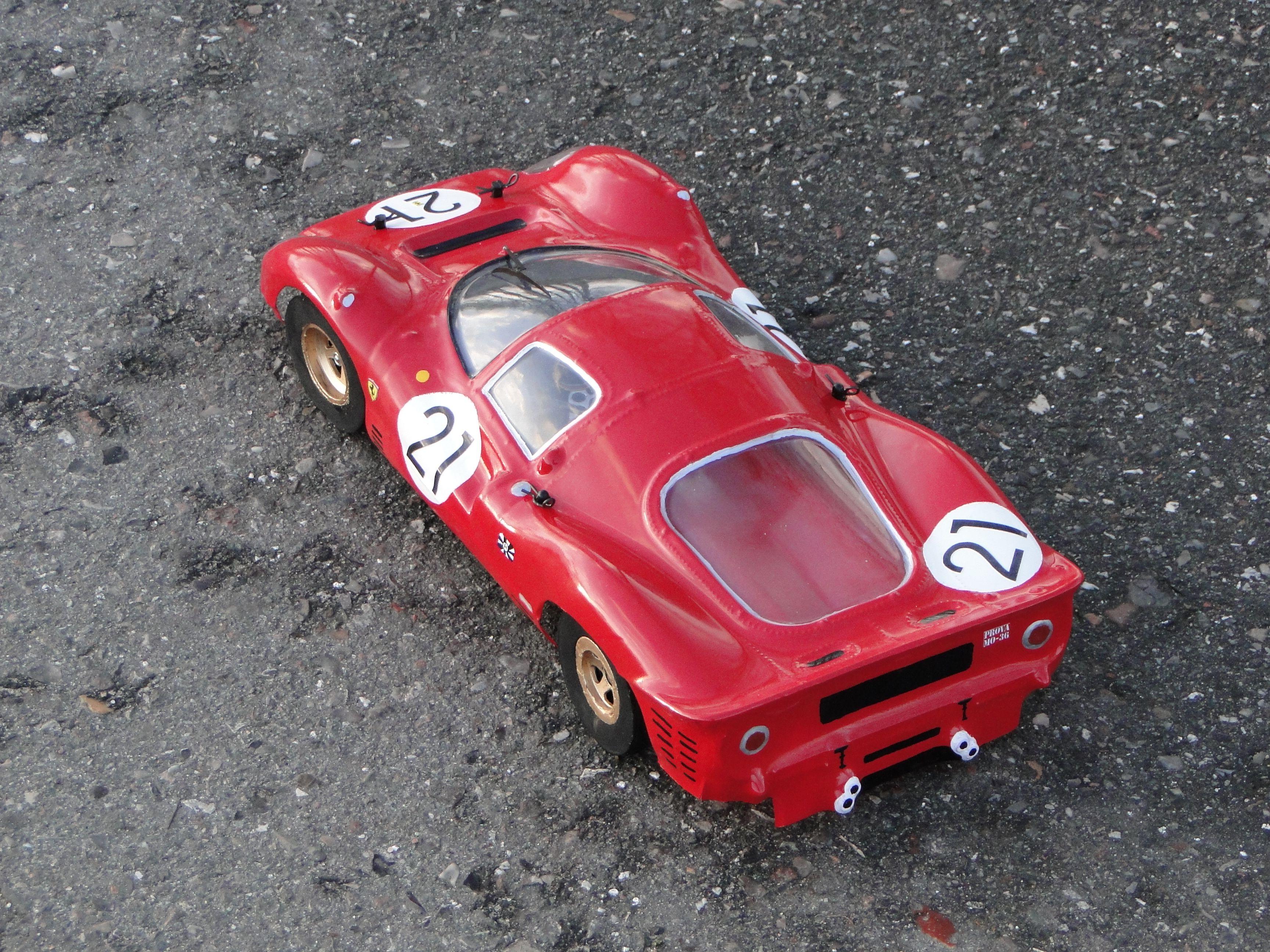 Rc Ferrari 330 P4 Ferrari Le Mans Man