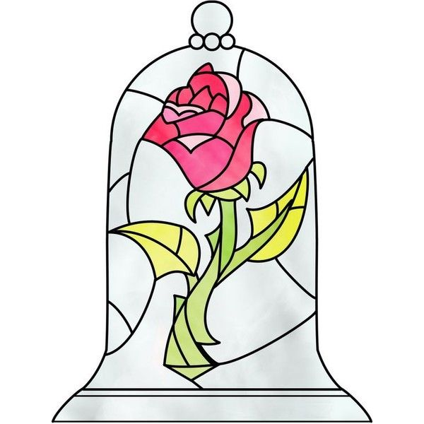 Beauty The Beast #9 Rose iPhone iPod Case ❤ liked on Polyvore ...