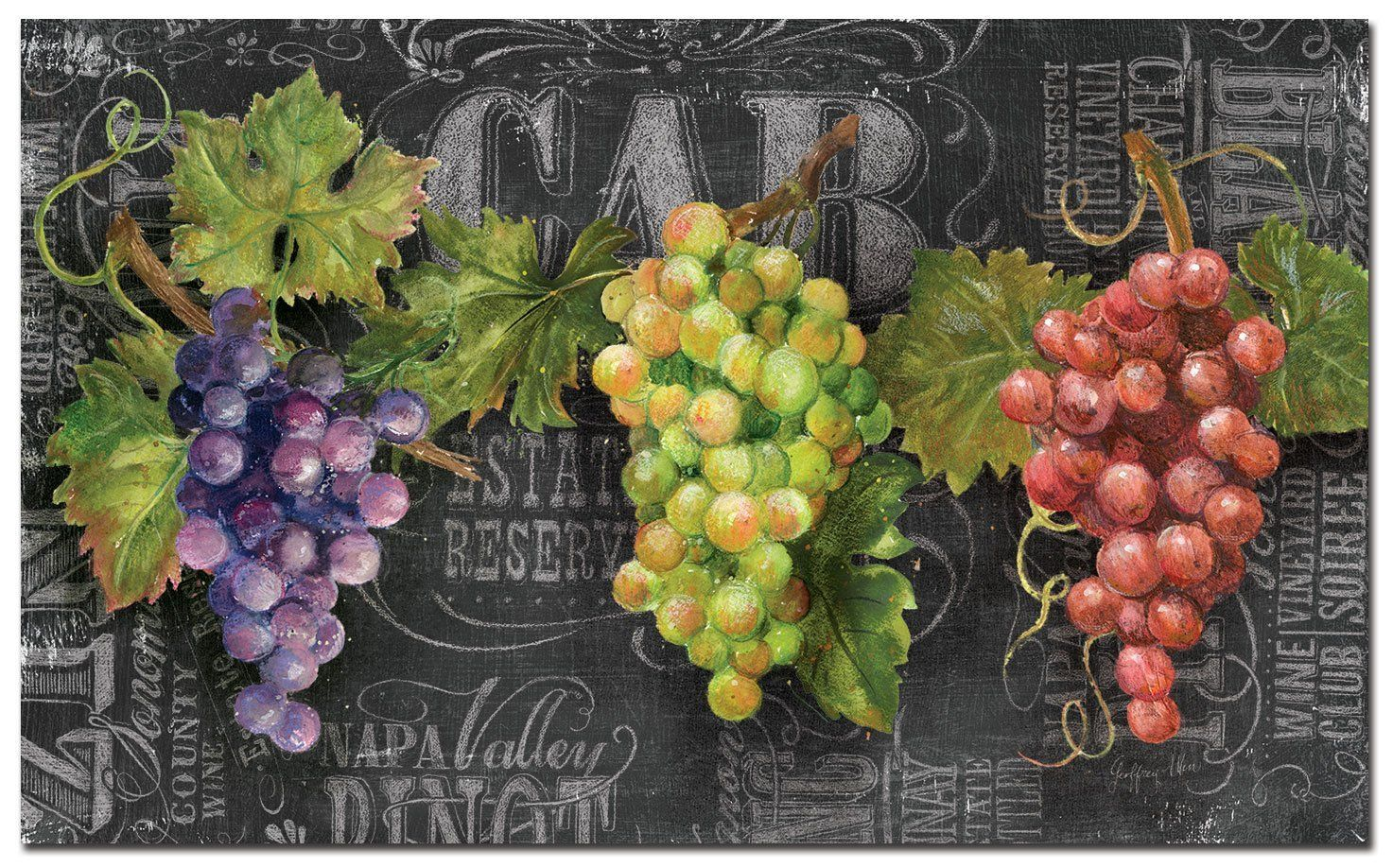 Amazonsmile counter art anti fatigue floor mat chalkboard wine