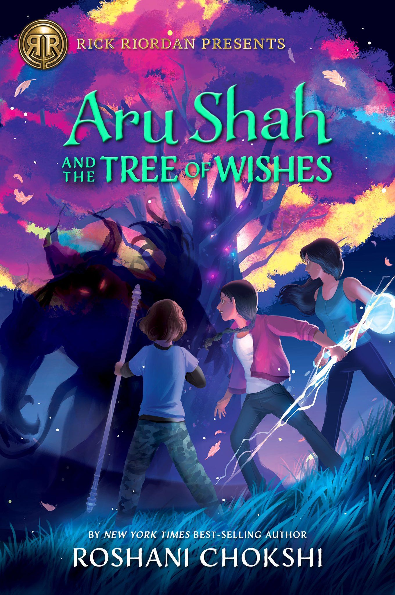 Aru Shah And The Tree Of Wishes By Roshani Chokshi Book Tours Book Release Rick Riordan