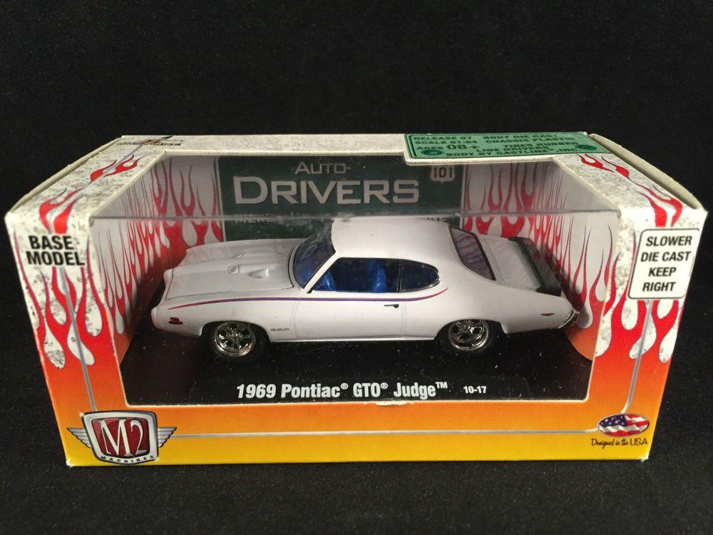 M2 Machines Auto Drivers 1969 Pontiac Gto