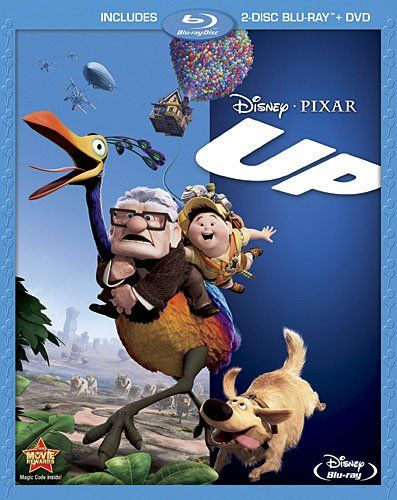Up Three Disc Blu Ray Dvd Combo Holiday Adds Filmes