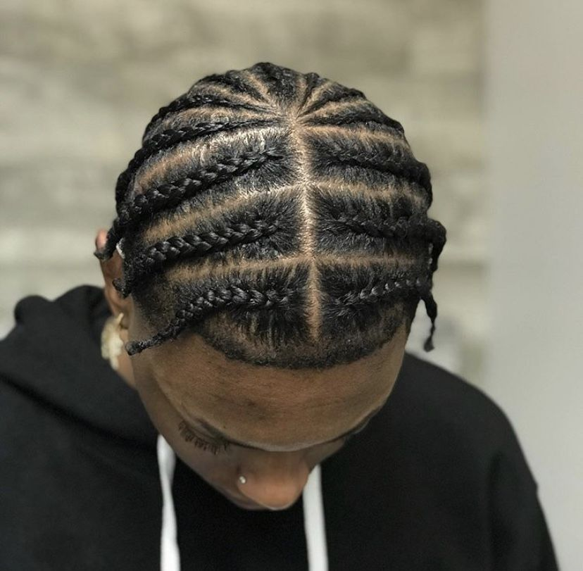 Pin By ϟ On Men S Hairstyles And Haircuts Cornrow Hairstyles For Men Hair Twist Styles Hair Twists Black
