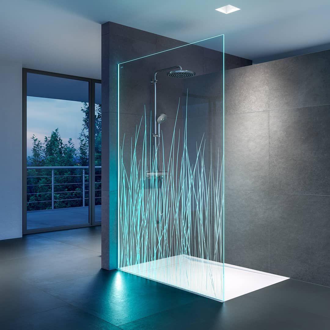Die Besonders Edle Duschwand In Glasoptik Sie Besticht Durch Ihre Individuelle Led Beleuchtung Die Farbe In Ihr Bad Bringt Duscholux Air Il Box Doc Resim
