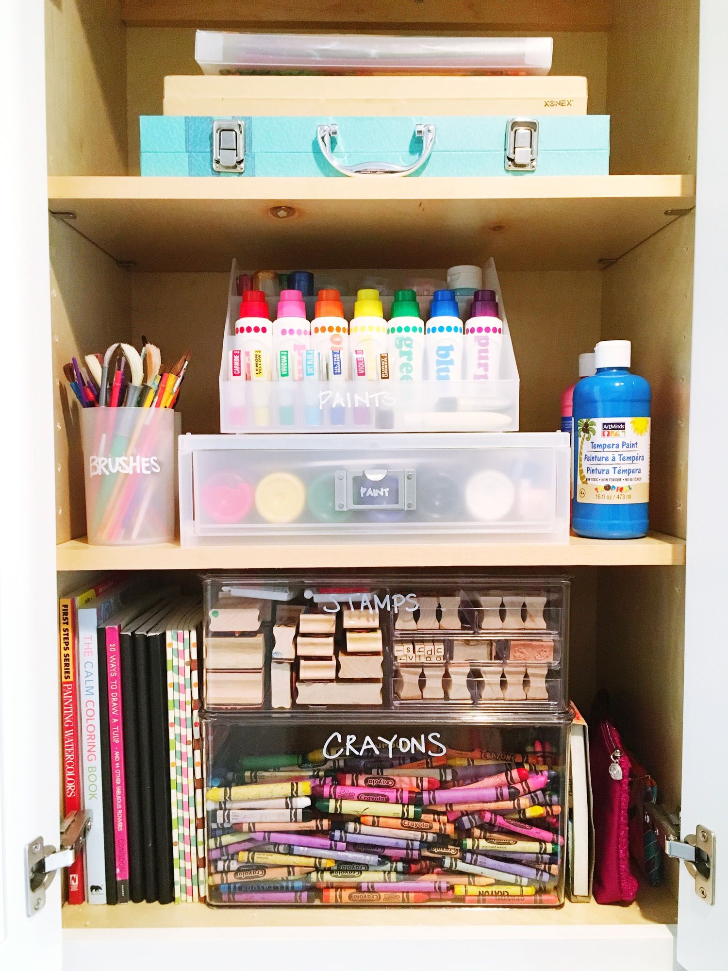 The Blog Art Supply Organization School Supplies Diy Notebook School Supplies Diy Binders