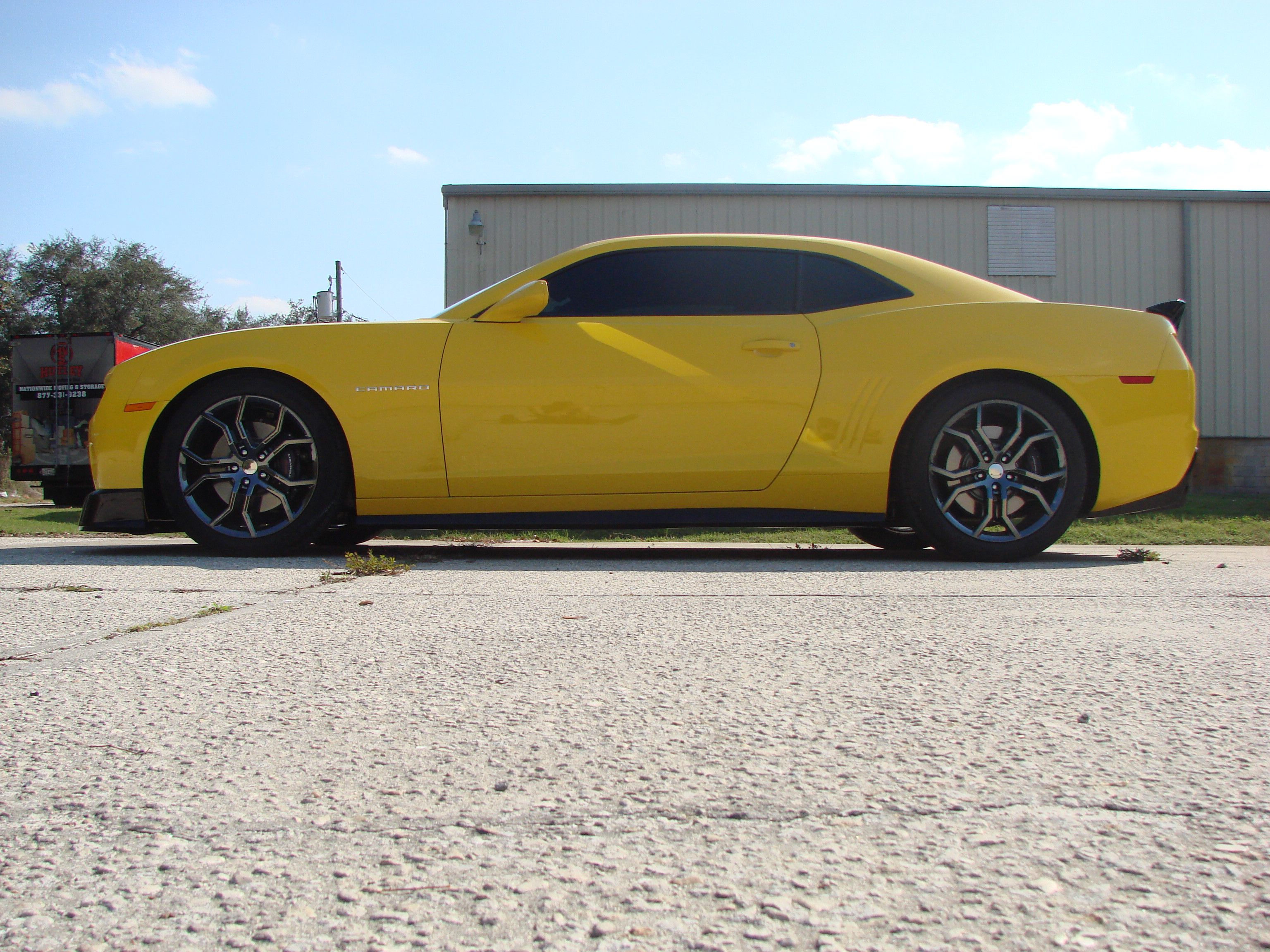 2011 Supercharged Camaro SS we shiped this one to Uruguay