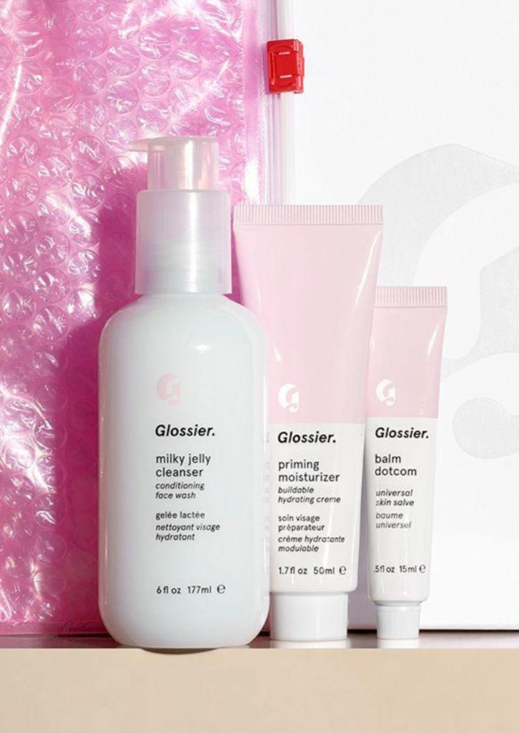 The Skincare Set Balm Milky jelly cleanser, Skin