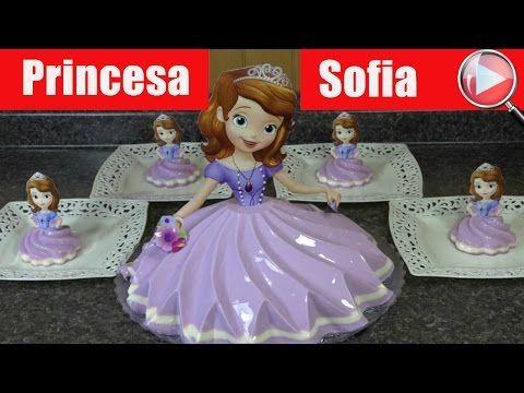 9e723c7ea Gelatina de Princesa Sofia - Recetas en Casayfamiliatv - YouTube ...