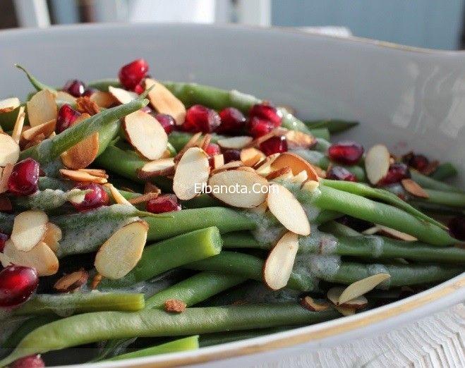 طريقة عمل سلطة الفاصوليا الخضراء مع حليب جوز الهند اكلات شهية مطبخ بنوته عالم المرأة بنوته كافيه Green Beans Vegetables Asparagus
