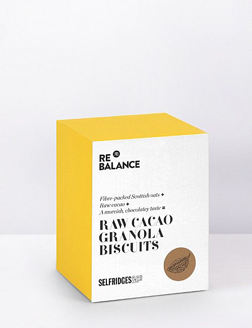 SELFRIDGES SELECTION Raw cacoa granola biscuits 200g